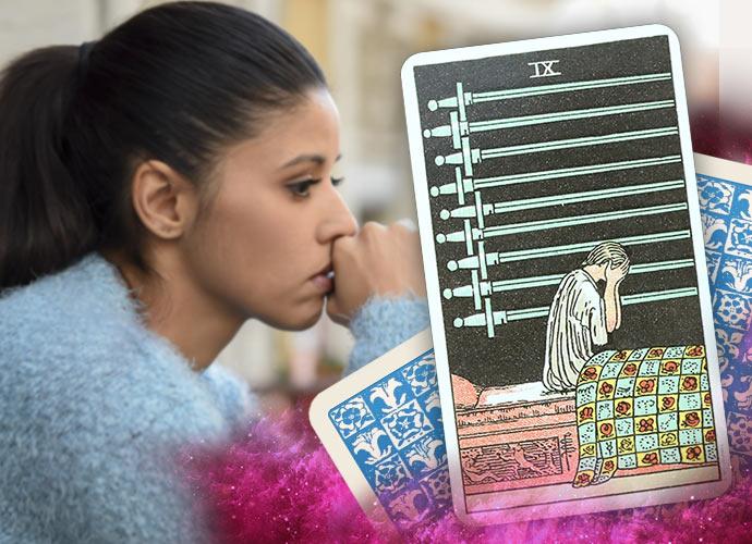 The Nine of Swords Tarot Card
