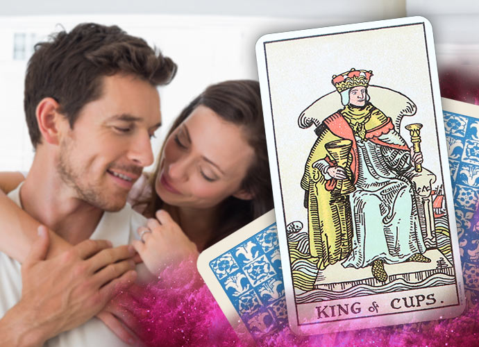 The King of Cups Tarot Card