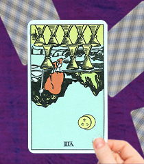 The Eight of Cups Tarot Card: Upright and Reversed Meanings