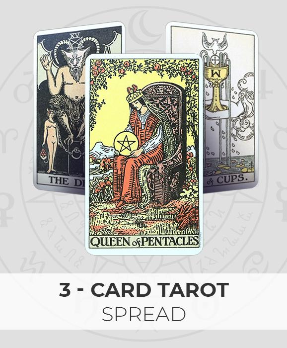 3 Cards tarot reading