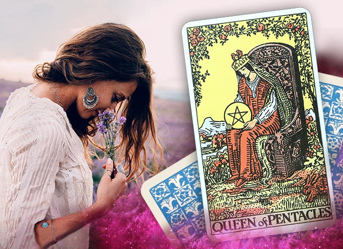 Queen of Pentacles: Upright and Reversed Love Meanings & More