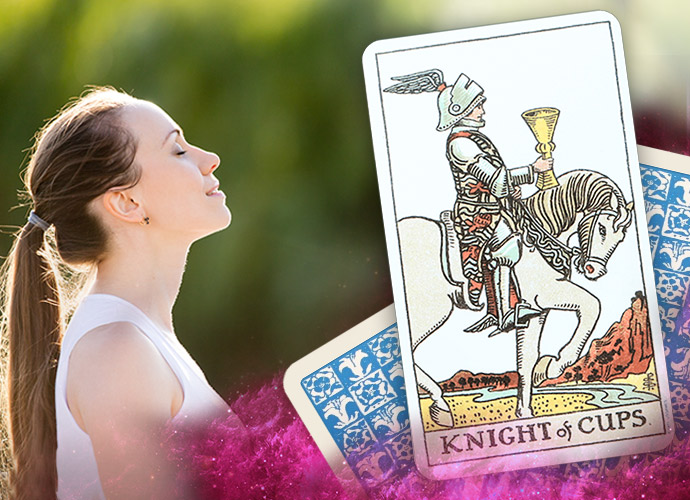 The Knight of Cups Tarot Card: Upright and Reversed