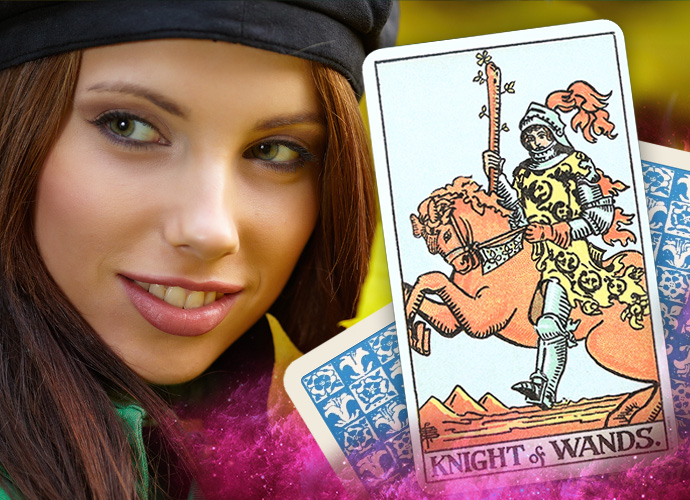 The Knight of Wands Tarot Card Interpretations and Reversed