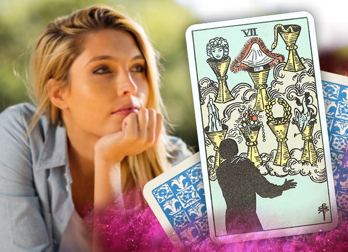 The Seven of Cups Tarot Card Meaning and Interpretation
