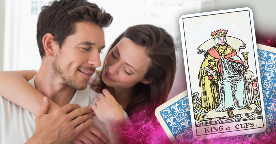 The King of Cups Tarot Card