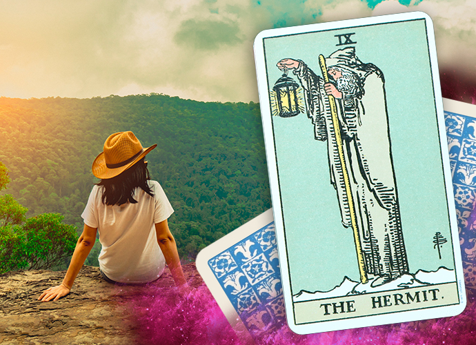 Tarot Card The Hermit - Definitions & Meanings