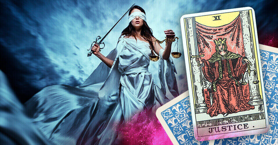 Justice Tarot Card Meaning & Definition | Kasamba