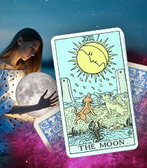 The Moon Card